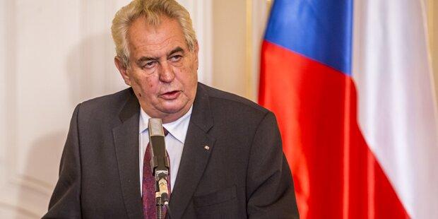 Tschechischer Präsident warnt Nichtwähler vor