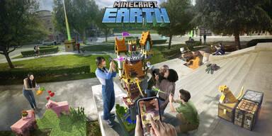 Minecraft Earth begeistert Gaming-Fans