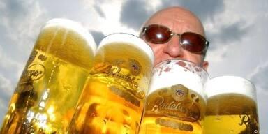 Minus vier Prozent beim Bierverbrauch