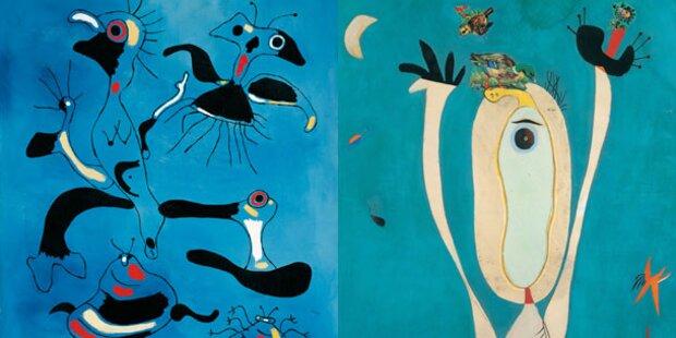 Joan Miro beehrt die Albertina