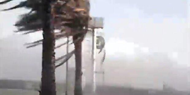 Vier Tote bei Sturm in Japan