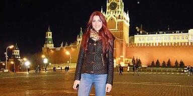 Miss Austria: Grüße aus Moskau