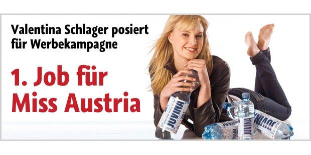 Erste Kampagne für Miss Austria