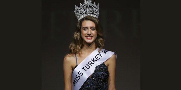 Wut-Erdogan nimmt Miss Türkei Krone weg
