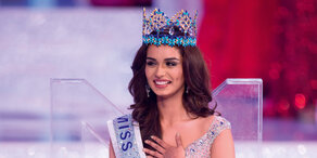 Manushi Chhillar zur Miss World gewählt