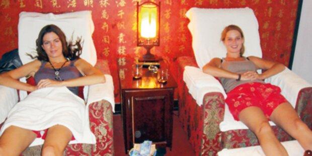 Eine Massage für unsere Missen