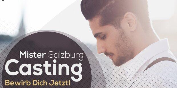 Casting für Mister Salzburg Wahl