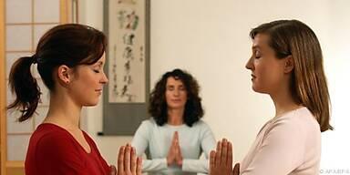 Mit Meditation auf der Suche nach innerer Ruhe