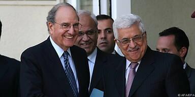 Mitchell traf Abbas zu dreistündigen Gesprächen