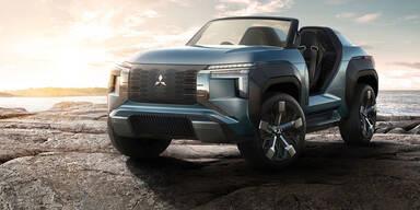 Mitsubishi zeigt SUV mit Turbinen-Antrieb