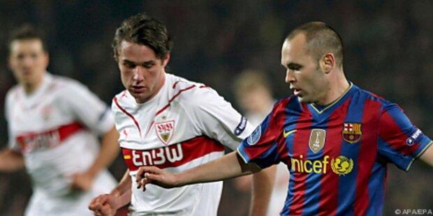 Barcelona ohne Iniesta gegen Arsenal