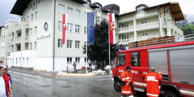 Alko-Rollstuhlfahrer landete in Salzach