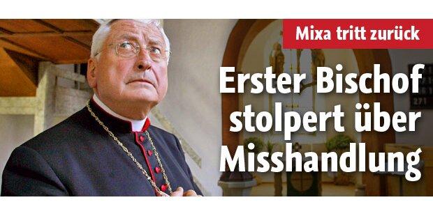 Augsburger Bischof Mixa tritt zurück