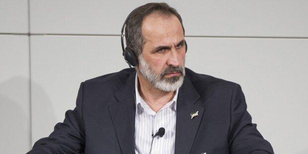 Syrische Opposition beansprucht UNO-Sitz