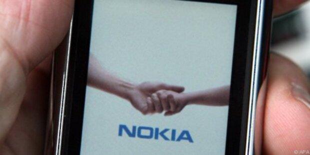 Nokia steht auf