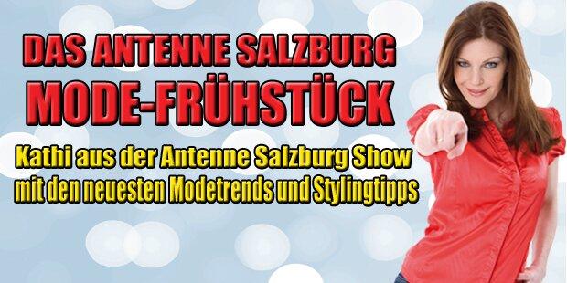 Das Antenne Salzburg Mode-Frühstück!