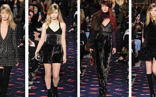 Moss, Jagger, Richards: Rock-Chick-Models bei Sonia Rykiel
