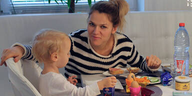 Models im Babyglück, Sara Kulka