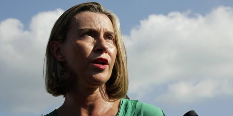 Mogherini zu Syrien: 'Kein Kriegsende in Sicht'