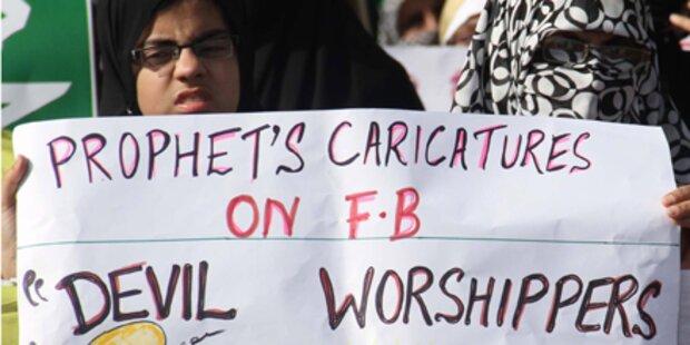 Neuer Streit um Mohammed-Karikaturen