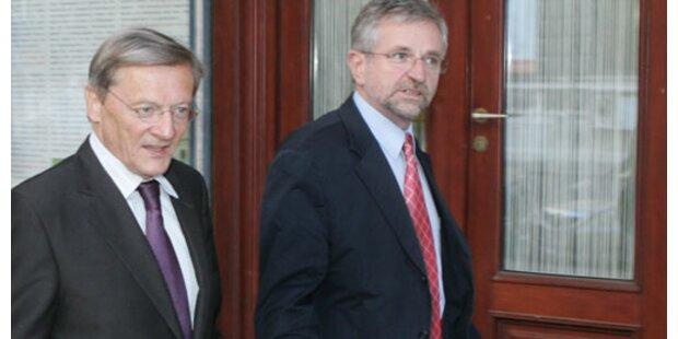 Molterer wird neuer Finanzchef, Vizekanzler und  ÖVP-Obmann