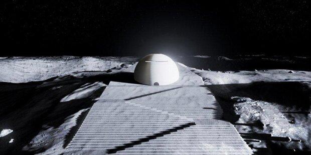 Raumfahrtagentur zeigt Pläne für Mond-Moschee
