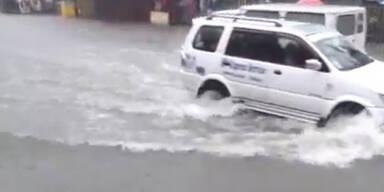 Dramatisch: Monsun setzt den Philippinen zu