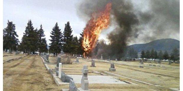 14 Tote bei Flugzeugabsturz in Montana