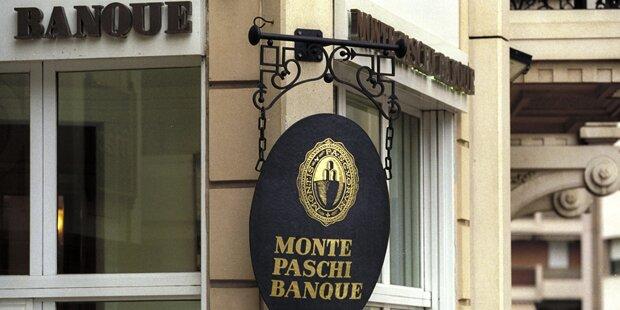 EZB: Monte Paschi braucht 8,8 Milliarden Euro