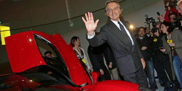 Luca di Montezemolo bleibt Ferrari-Präsident