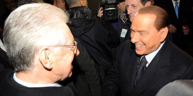 Monti für Begnadigung Berlusconis