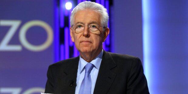 Streit mit Mauro: Monti tritt zurück