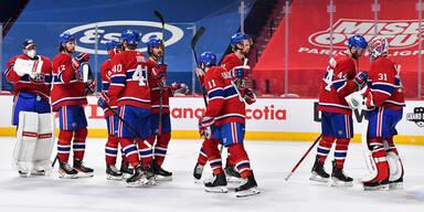Montreal Canadians im NHL-Play-off-Duell gegen die Winnipeg Jets