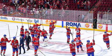 Montreal löst als erstes Team Halbfinal-Ticket