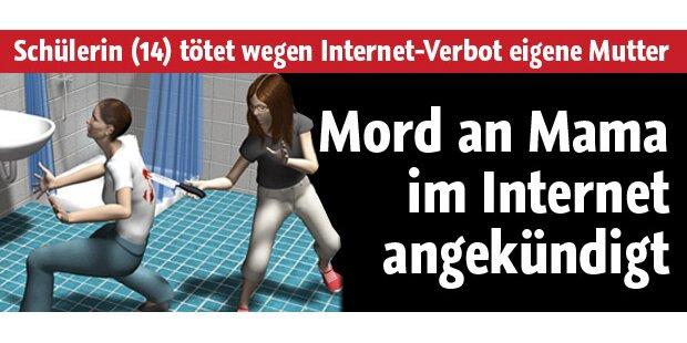 14-Jährige kündigte Mord im Internet an