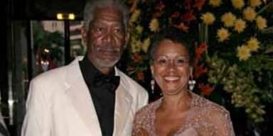 Morgan Freeman und Frau Myrna