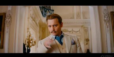 "Film: ""Mortdecai"" mit Johnny Depp"