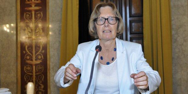 Moser will schärfere Sanktionen
