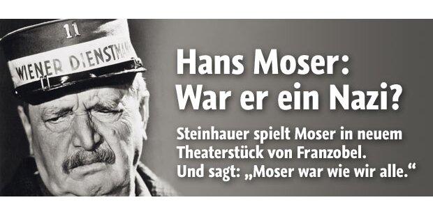 Franzobel: War Hans Moser ein Nazi?