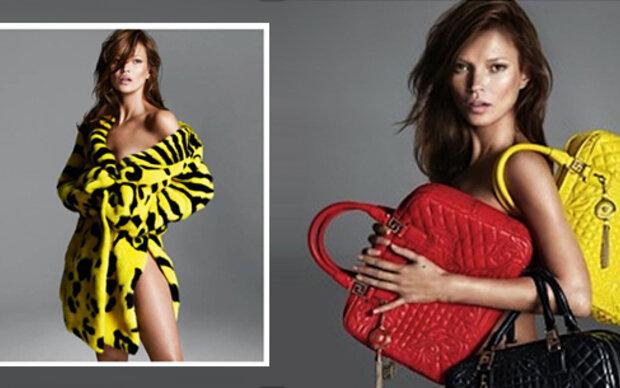 Kate Moss: Brünett für Versace