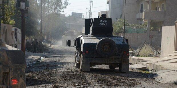 Irakische Armee nahm Osten von Mosul ein