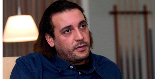 Gaddafis Sohn verprügelte Ehefrau