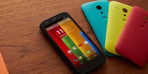 Motorola Moto G zum Kampfpreis