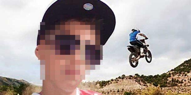 Bub (12) stirbt bei Motocross