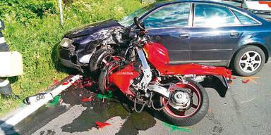 Serie von Bikerunfällen reißt nicht ab