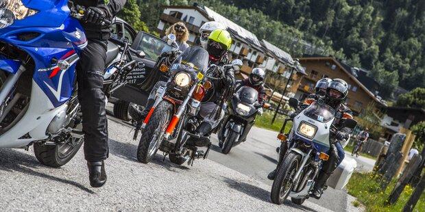 Das war die 1. Antenne Salzburg Motorradsternfahrt