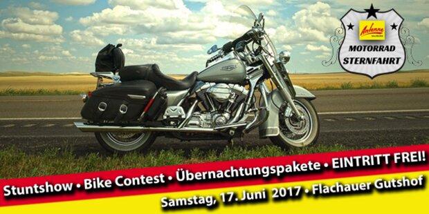 3. Antenne Salzburg Motorradsternfahrt