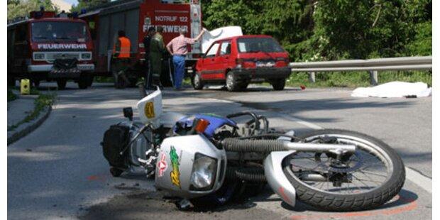 Blutiger Start der Bikesaison