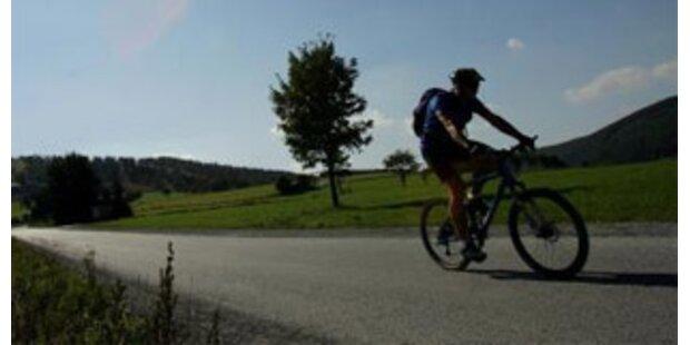 Mountainbiker wegen Herzinfarkt verunglückt