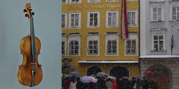 Salzburg: Mozarts Geige zieht ins Geburtshaus